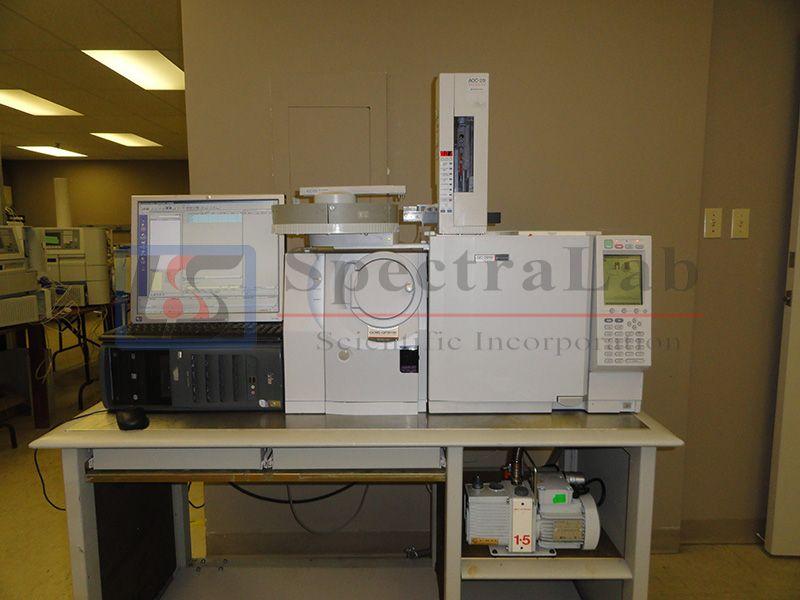 Shimadzu GC/MS System (GC-2010, QP-2010,  autosmpler, software, rough pump, PC S/N  C703843000xx