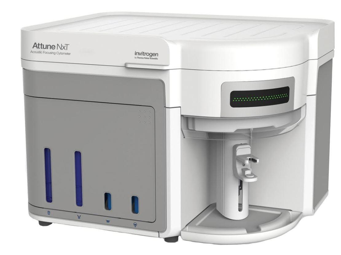 Thermo Fisher Scientific- Attune NxT- A28995 Acoustic Focusing Cytometer, blue/green
