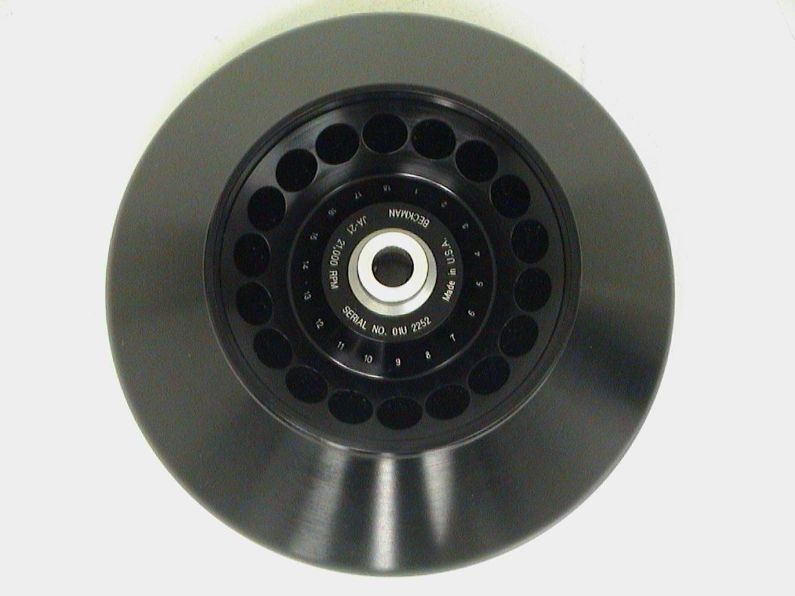 Beckman Coulter JA-21 Centrifuge Rotor