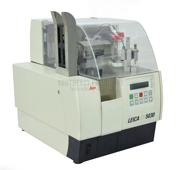 Leica CV 5030 coverslipper, refurbished with warranty- Southeast Pathology Instrument Service