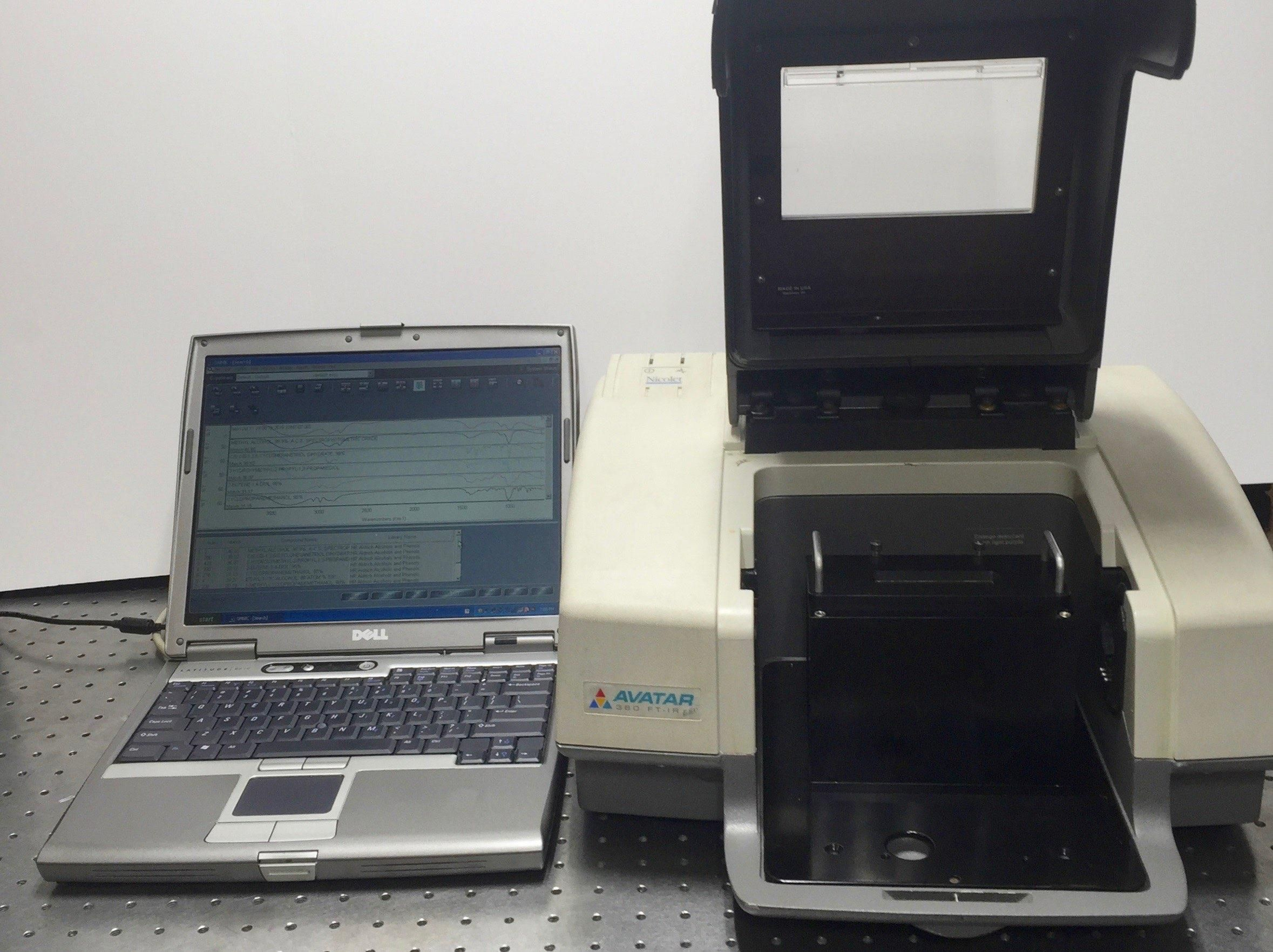 Nicolet Avatar 360 FTIR with Horizontal ATR for Liquids