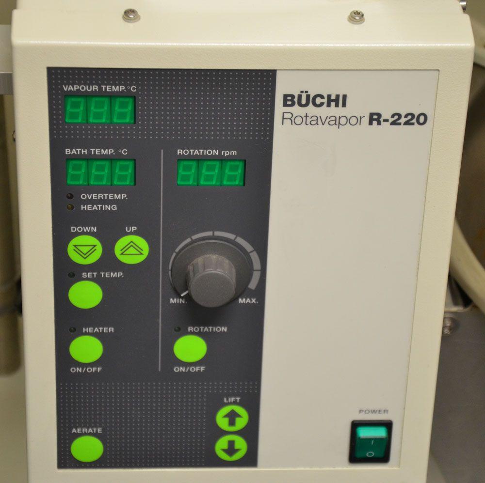 BUCHI R-220 R220 R 220 Rotovap Complete