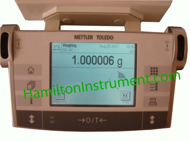 Mettler MX5 microbalance 5.100000