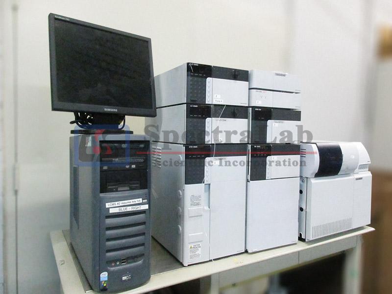Shimadzu LCMS-2010 EV with Shimadzu HPLC System