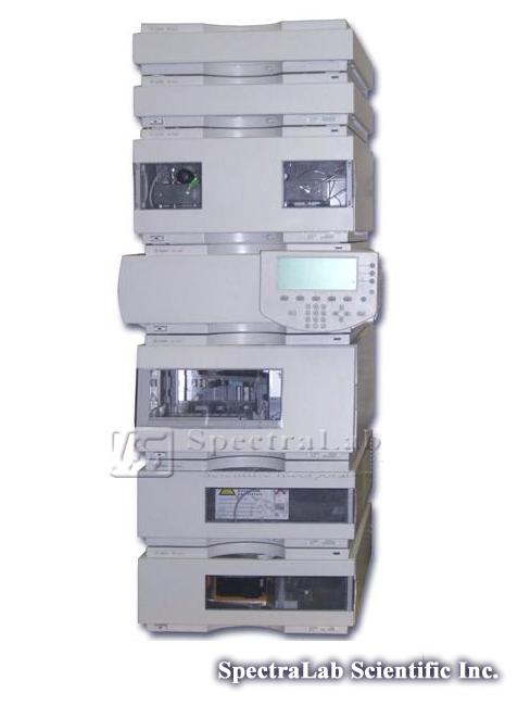 HP Agilent 1100 Series G1311A Quat Pump and G1314A  VWD HPLC System
