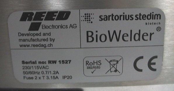 Sartorius BioWelder