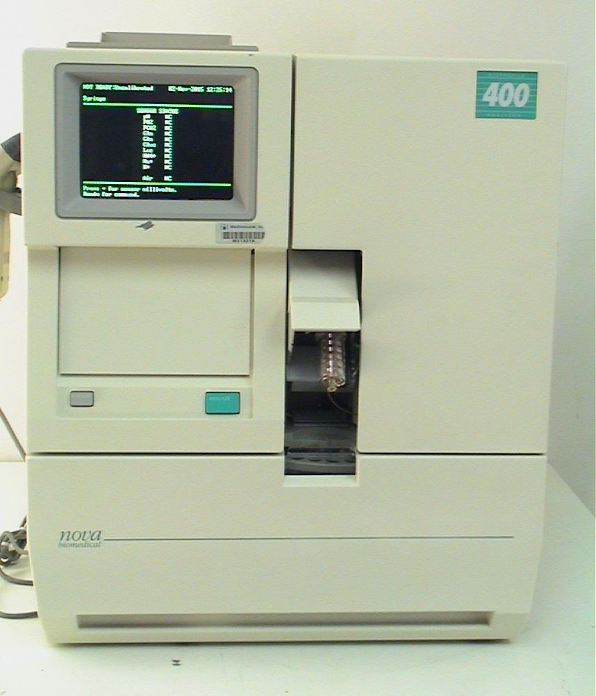 Nova Biomedical Bioprofile 400