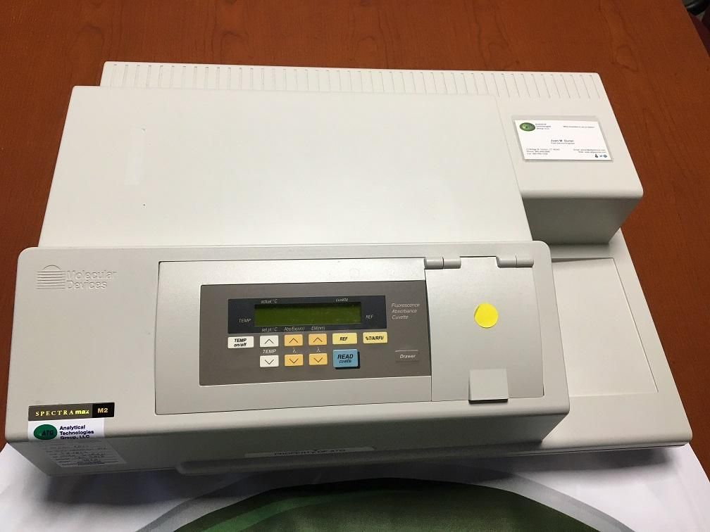 Molecular Devices SpectraMax M2 Microplate Reader with 90 Day Warranty