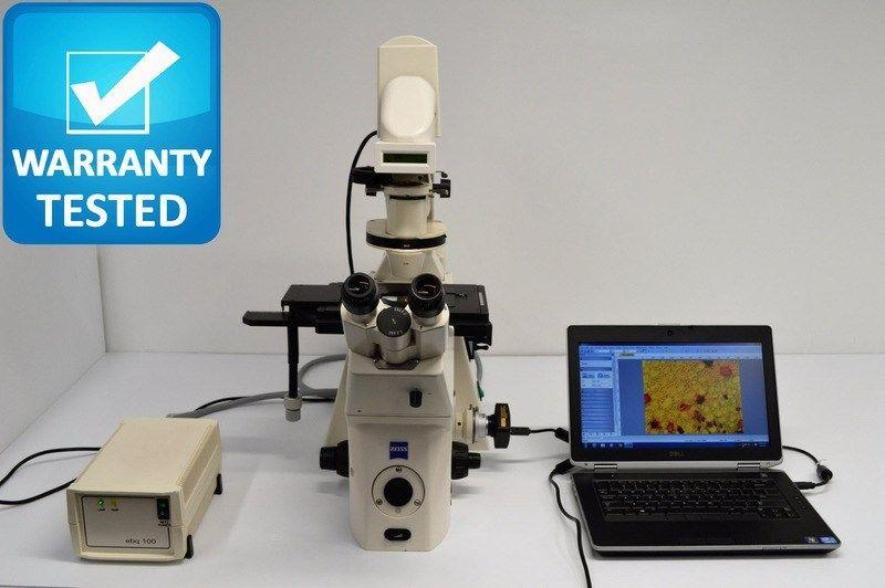 Zeiss Axiovert 200M Inverted Fluorescence DIC Microscope Pred. to Observer Z1