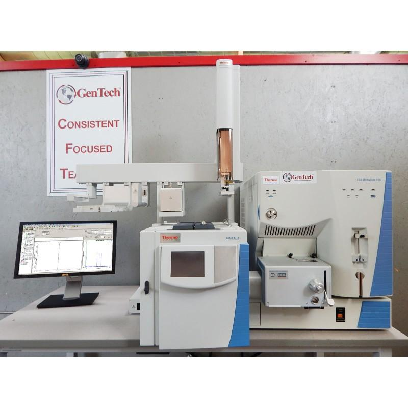Thermo TSQ Quantum XLS with 1310 Triple Quad GC/MS/MS & Triplus Autosampler