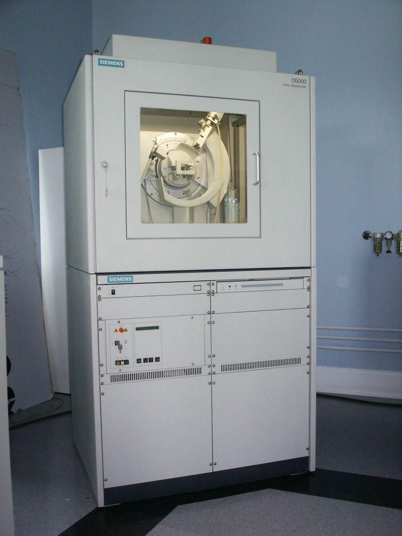 Siemens / Bruker D5000 X-ray Powder Diffraction (XRD) System