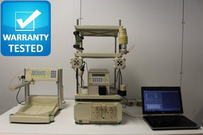 Bio-Rad BioLogic Duo-Flow Chromatography w/ QuadTec UV-Vis, BioFrac