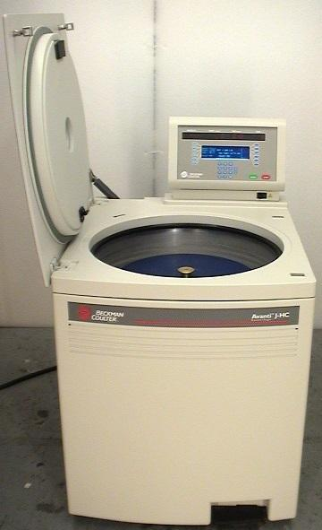 Beckman Coulter Avanti J-HC Centrifuge with JS-4.2 Rotor