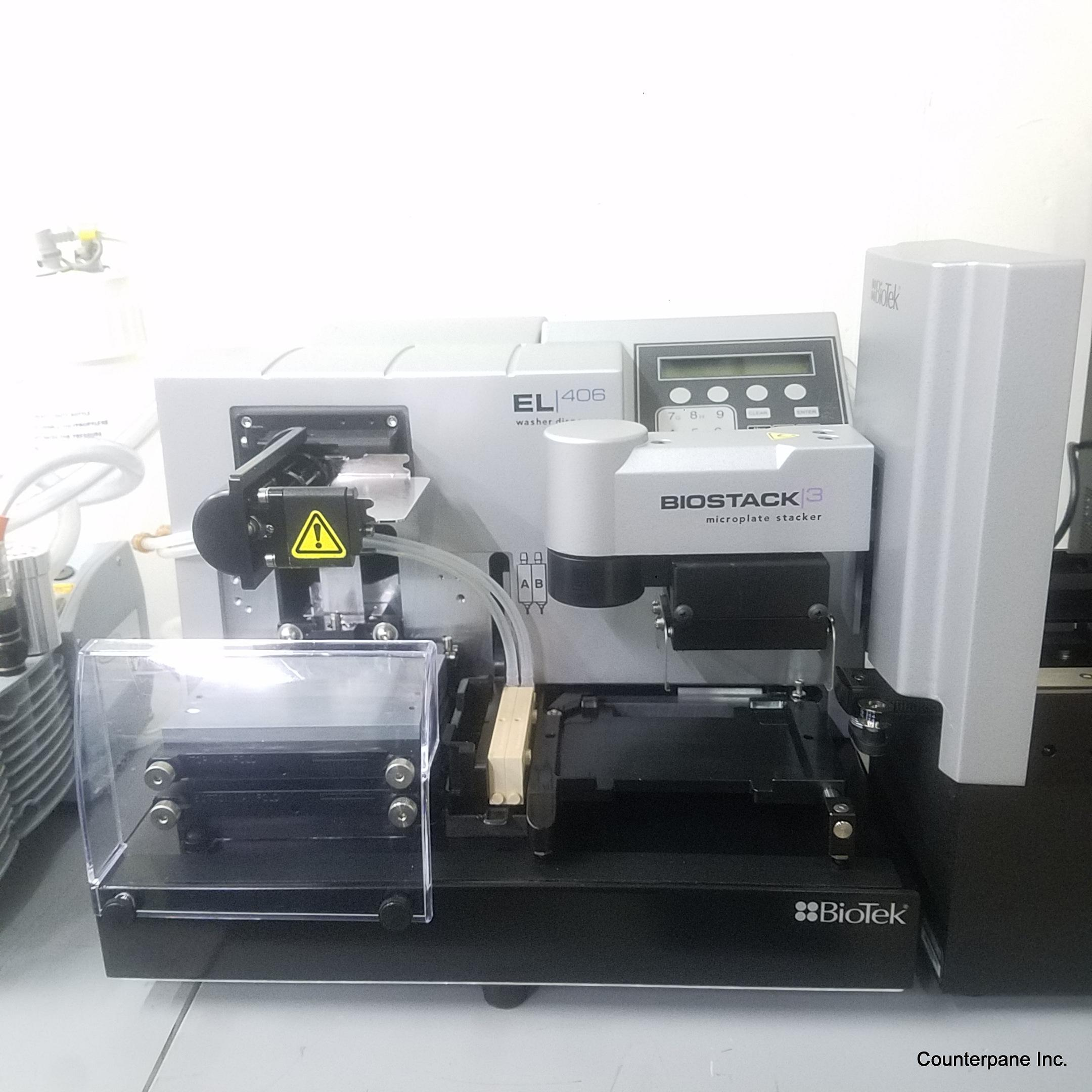 Biotek EL406 Reagent Dispenser w/BioStack3 (Year 2015)