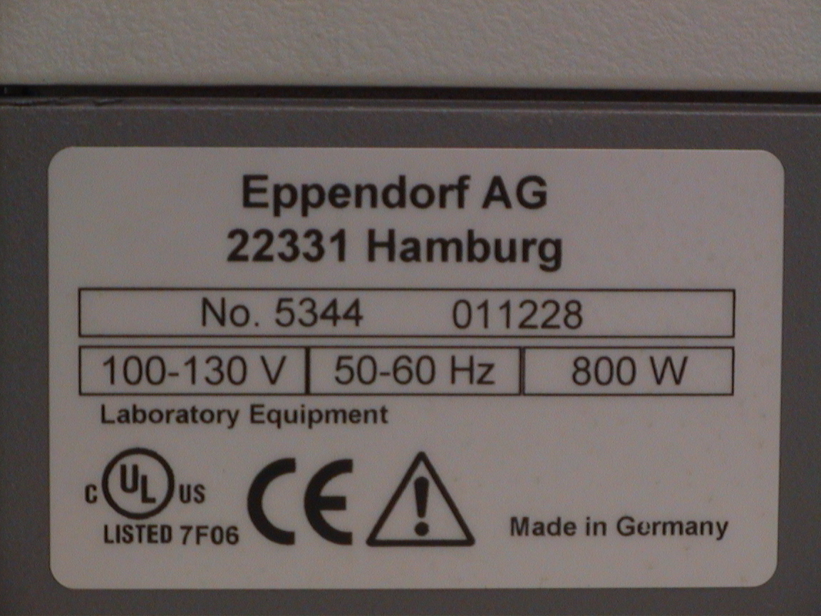 Eppendorf Mastercycler EP 384 Thermal Cycler in excellent condition.