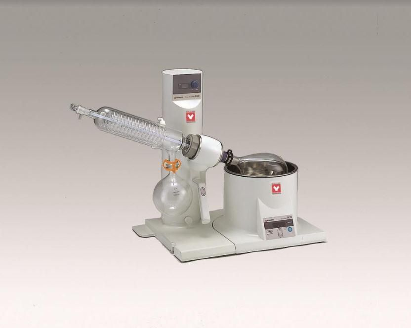 Yamato RE-301 Rotary Evaporator with Glassware A and 4L Water Bath