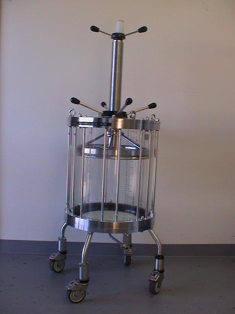 Amersham GE BPG 80 Liter Portable Glass Chromatography Column