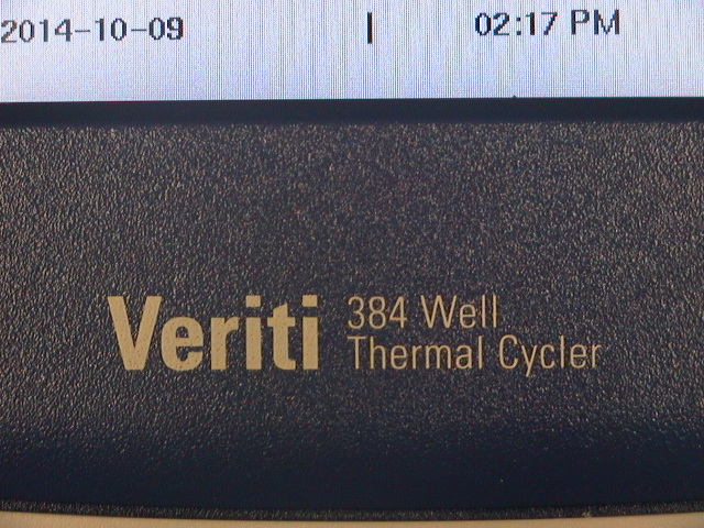 Applied Biosystems ABI 9903 Veriti 384 Well Thermal Cycler
