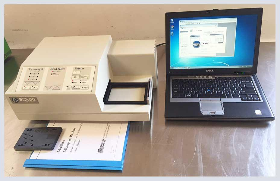Molecular Devices EMax Biolog Microplate Reader w SoftMax