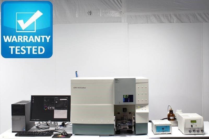 BD FACSCalibur Flow Cytometer w/ Cytek  DXP 3 Laser/9 color upgrade  Sim/ BD FacsCanto II