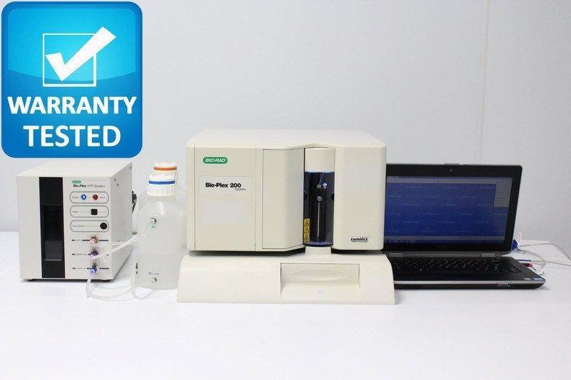 Bio-Rad Bio-Plex 200 Luminex Suspension Array Analyzer with Bio-plex Manager