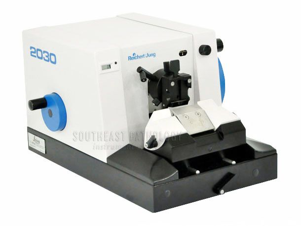 Leica / Reichert 2030 Microtome, refurbished, 1 year warranty- Southeast Pathology Instrument Service