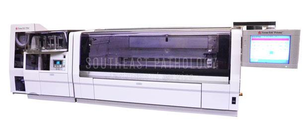 Sakura Tissue Tek Prisma stainer/film coverslipper combo, refurbished with warranty- Southeast Pathology Instrument Service