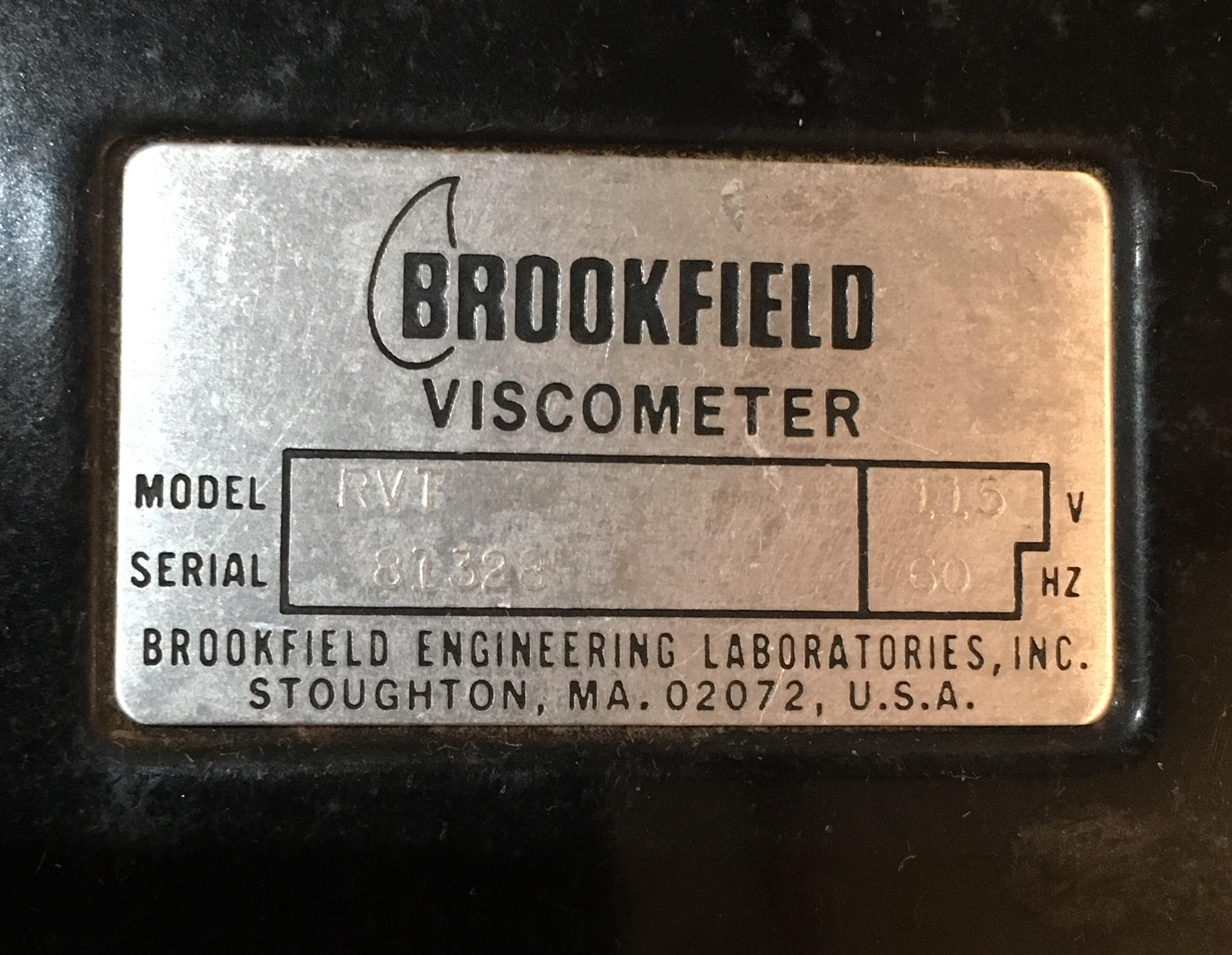 Two Brookfield Engineering Labs Viscometers With Hard Cases