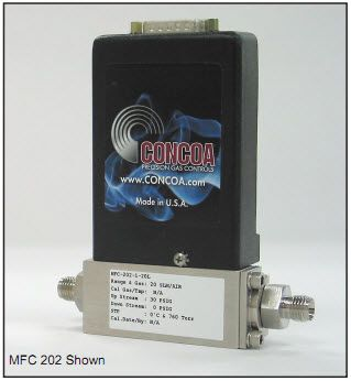CONCOA Mass Flow Meter and Mass Flow Controllers