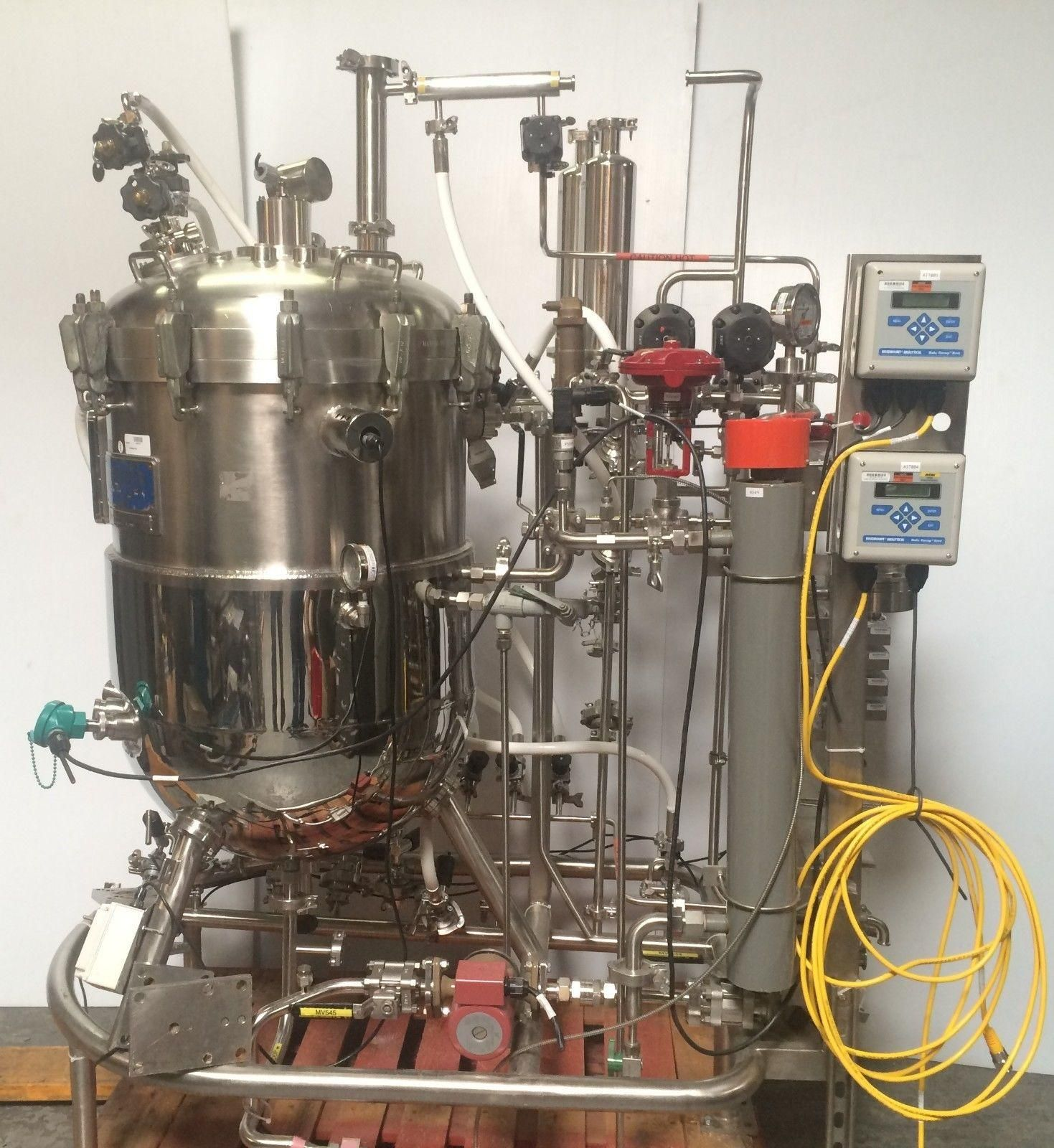 Jacketed Bioreactor Stainless Steel Fermentation System