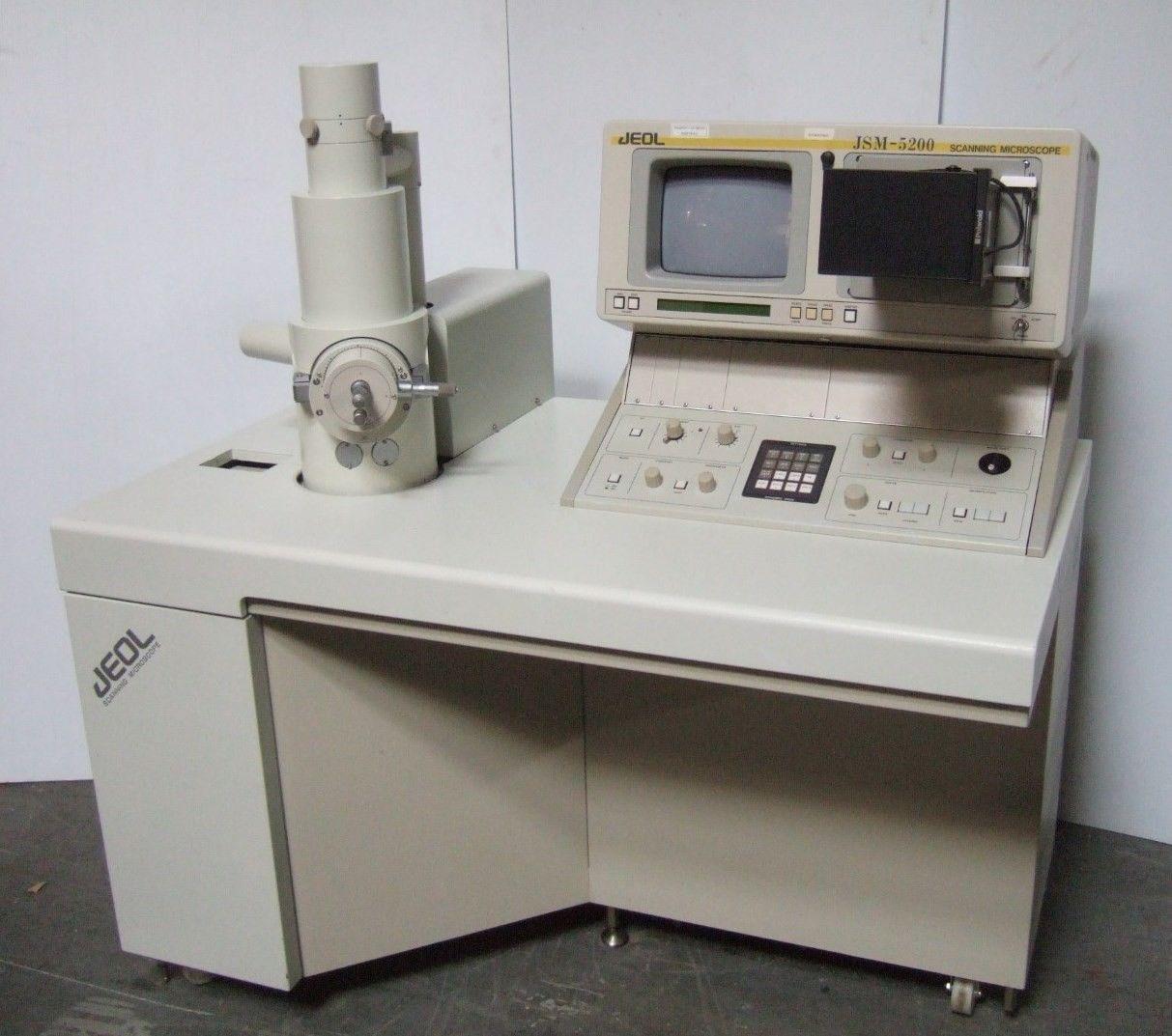 JEOL JSM 5200 SEM Scanning Electron Microscope Nice
