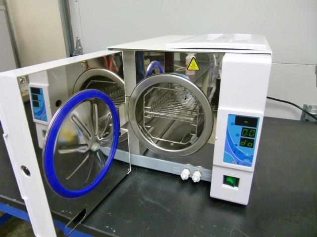 ~ BioClave Miniature Autoclave Model STE 8A