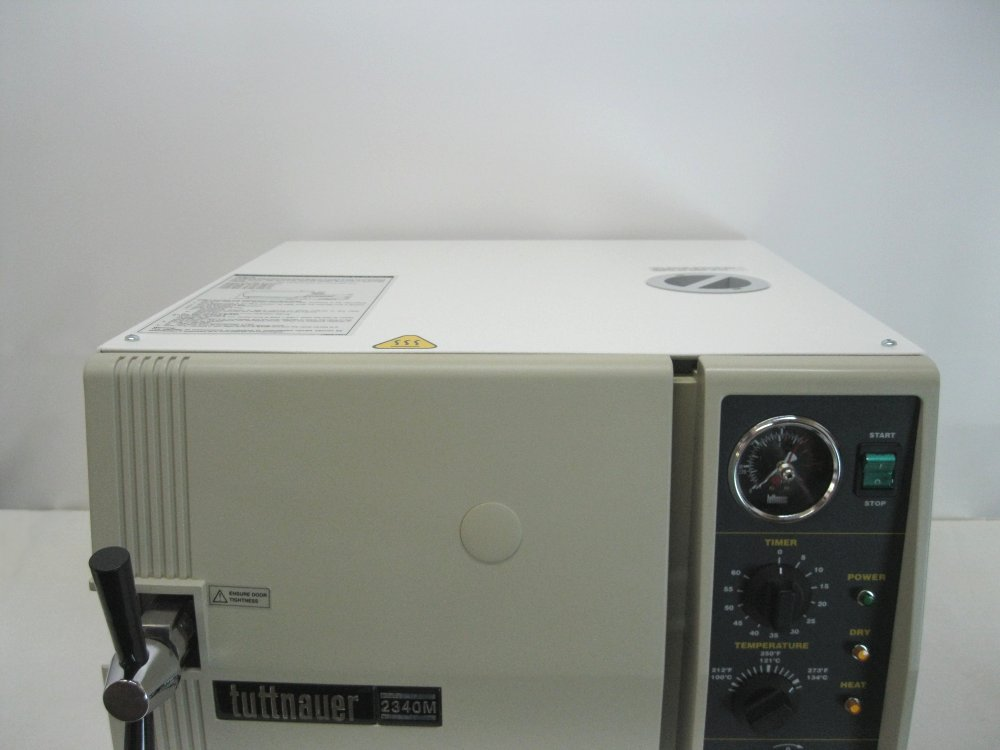 Tuttnauer 2340M Manual Autoclave - Clearance