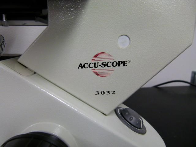 ~ Accu-Scope Model 3032 Inverted Microscope