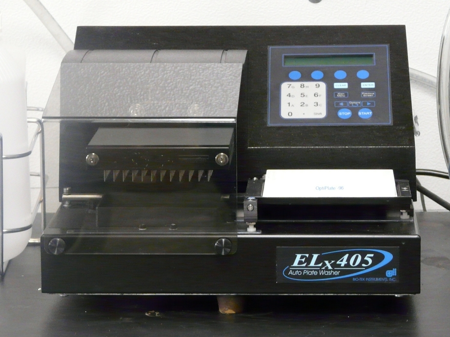 ~  BioTek ELx-405 Plater Washer with Welch Vacuum pump
