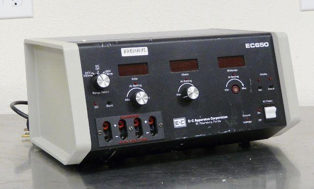 ~ EC 650 & 3000P Electrophoresis Power Supplies