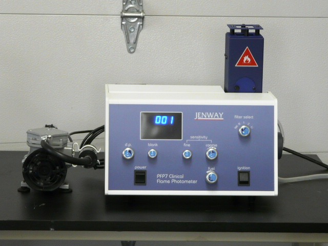 Jenway PFP7 clinical flame photometer