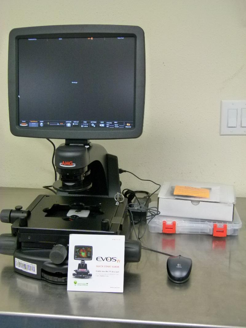 Life Technologies EVOS FL Fluorescence Imaging System with Accessories