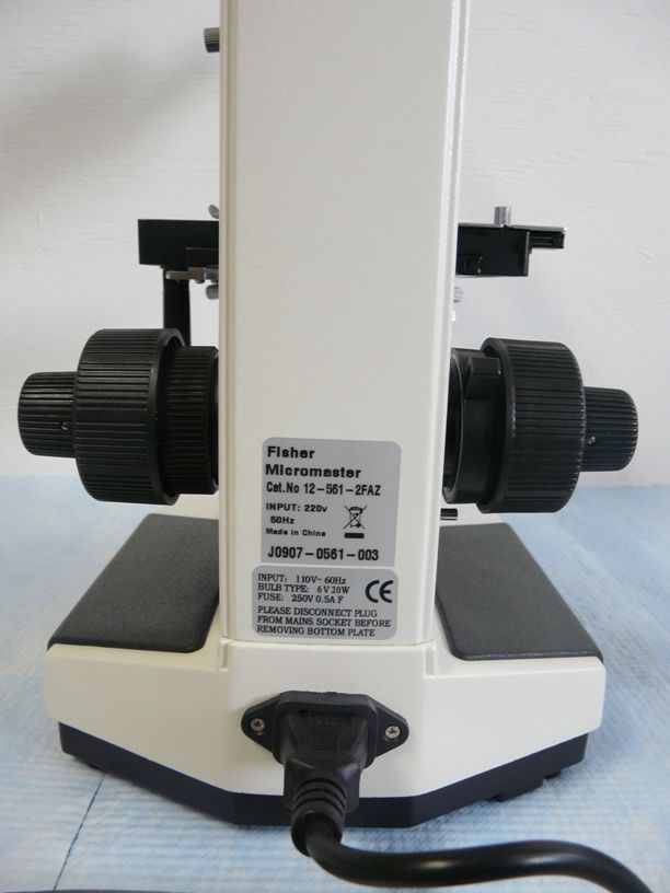 ~ Fisher Micromaster I Phase Contrast Microscope