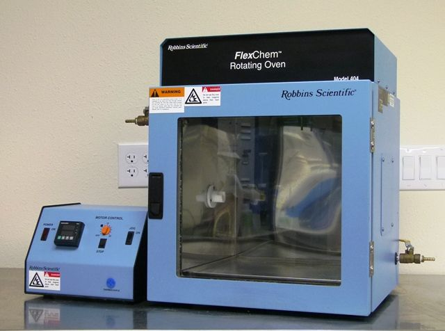 ~ Robbins Sci 404 Flexchem Oven with rotating block