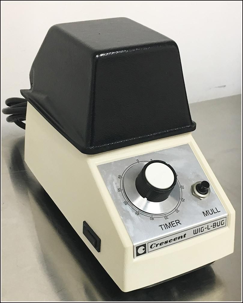 Crescent Wig-L-Bug Grinder Mixer Bead Homogenizer Analog w WARRANTY