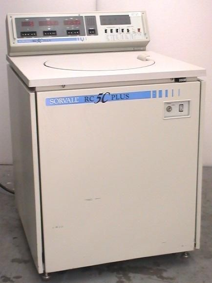 Sorvall RC-5C Plus Centrifuge with 4 Liter Rotor included