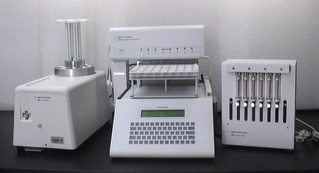 Agilent 8000 Automation Kit for 708DS including 8000 Autosampler, 808 Filter changer, 806 syringe
