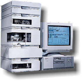 AGILENT HP 1100 Series HPLC SYSTEM
