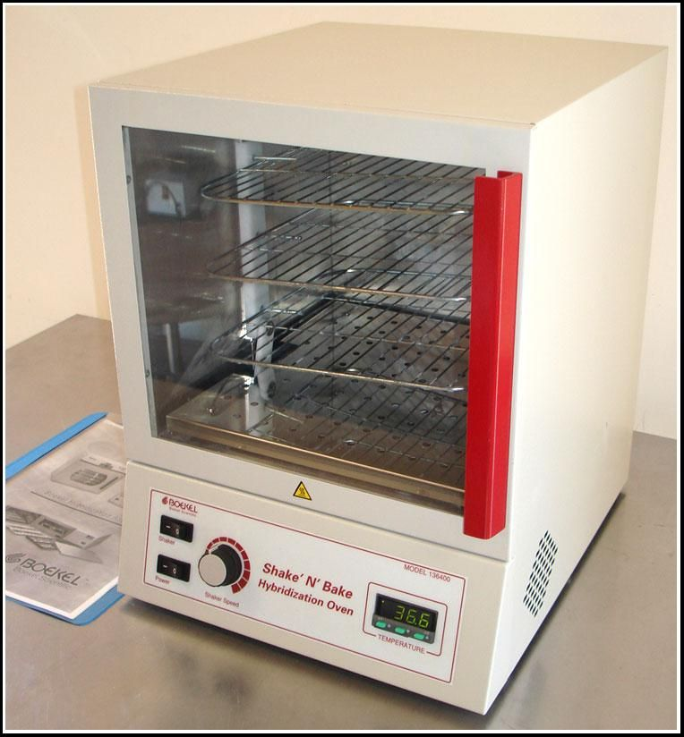 Boekel Shake N Bake Hybridization Oven 136400 Incubator Shaker w WARRANTY