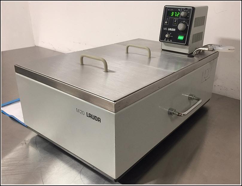 Lauda Heating Circulator Water Bath MS 20 w WARRANTY