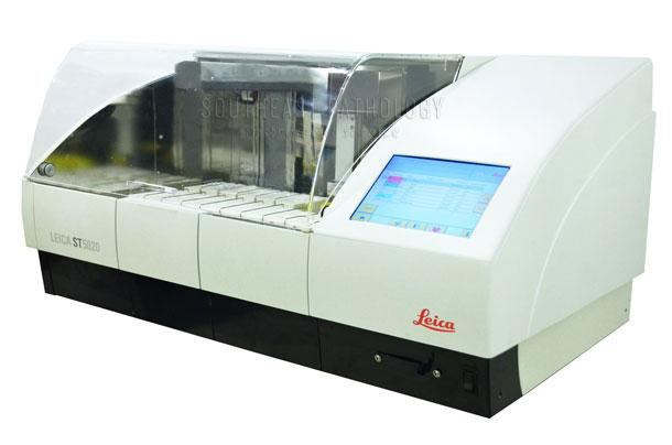 Leica ST5020 multi-stainer, refurbished, perfect condition- Southeast Pathology Instrument Service