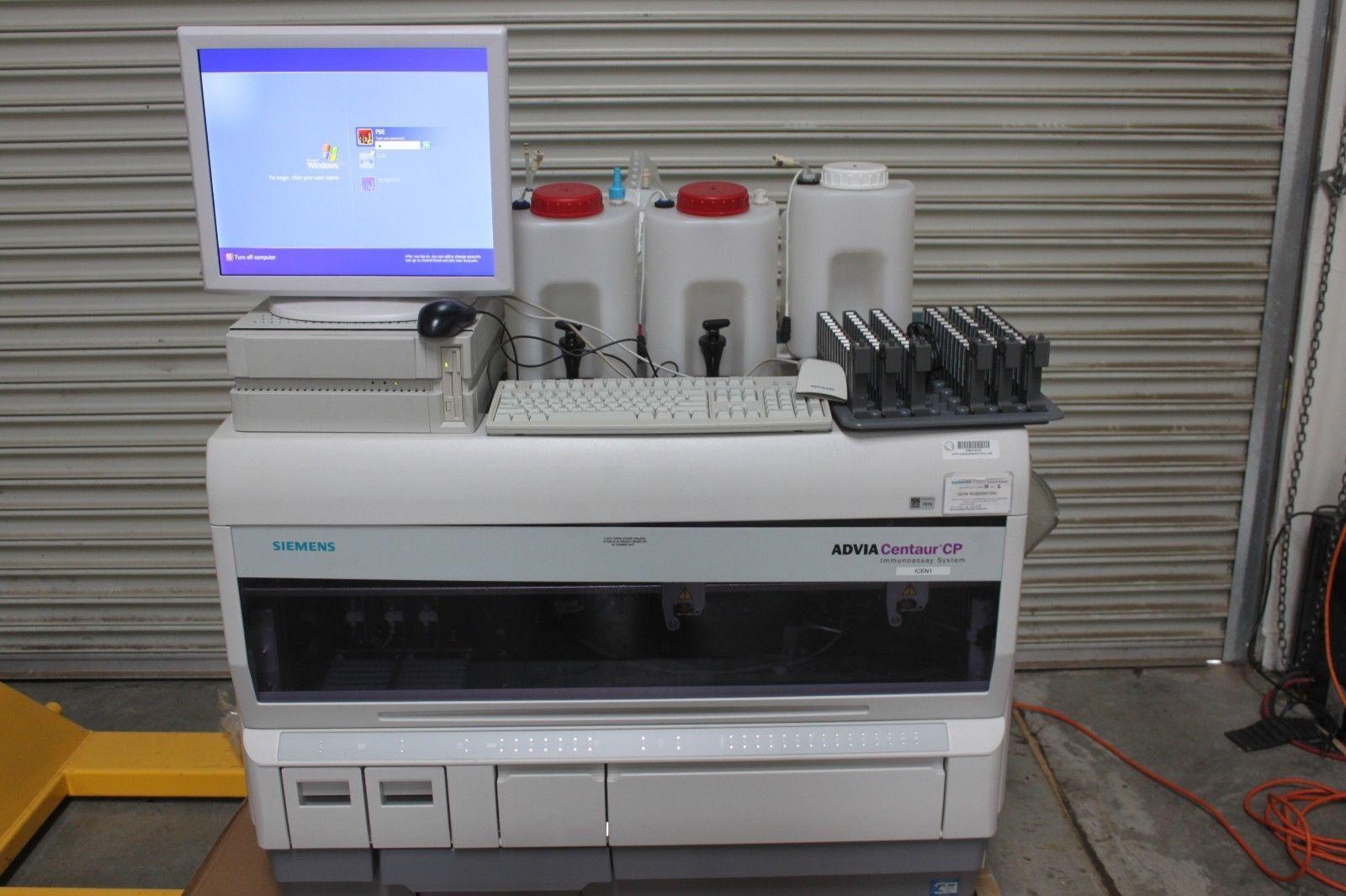 Siemens Advia Centaur CP Immunoassay System