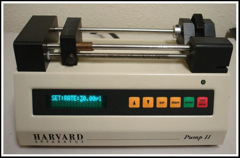 Harvard Apparatus Syringe Pump 11 w WARRANTY