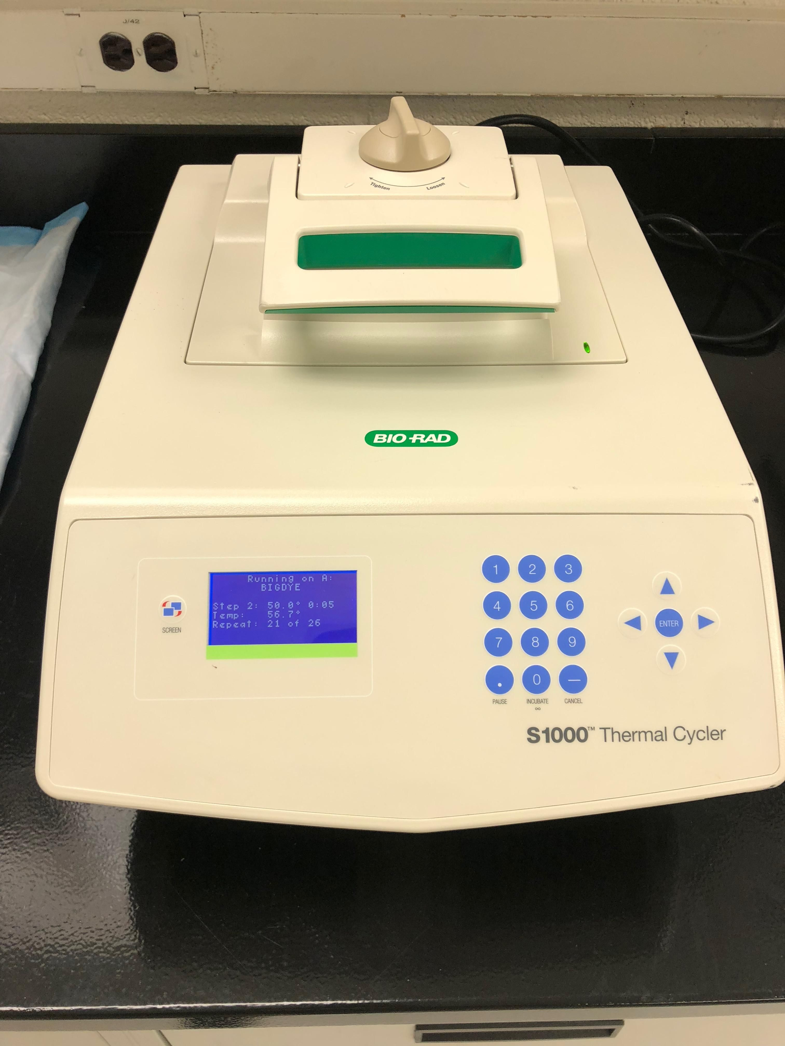 BIO-RAD S1000 Gradient Deep 96 well  PCR Thermal Cycler